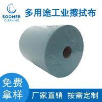 厂家直销工业擦拭布 擦机布吸油布卷装无尘布擦拭布