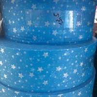 蓝色星星水刺无纺布 泉州厂家批发一次性无纺布