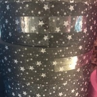 黑色星星款式水刺布印花 泉州优质厂家直销批发