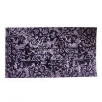 紫色蕾丝水刺无纺布 数码印花工艺水刺布福建厂家直销