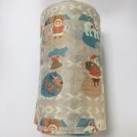 彩色圣诞节系列图案水刺无纺布 福建泉州厂家定制批发