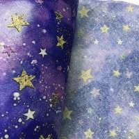 厂家直销卡通星星图案水刺无纺布口罩专用布