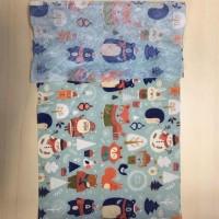 亚马逊爆款万圣节圣诞节系列水刺无纺布口罩用布