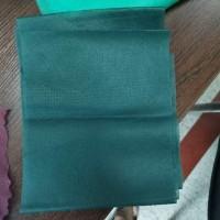 厂家供应纯色无纺布 翡翠绿无纺布
