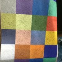 福建优质厂家 彩色格子水刺布 口罩布 可定制批发
