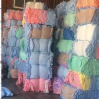 处理,黏胶涤纶混纺的水刺下脚料,30吨货在浙江金华