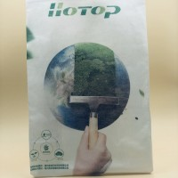 PLA80克购物袋背心袋 100%全生物降解无纺布