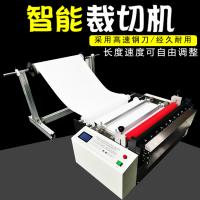 微电脑全自动无纺布裁切机 黄麻布裁剪机 植绒布切片机