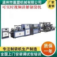 温州嘉盟机械,专业生产无纺布制袋机,可以定制