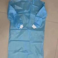 抛售蓝色42克淋膜隔离衣
