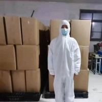 58克透气膜防护服欧版2XL.3XL,现货10万件