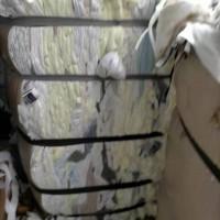 出售10吨床垫边角料,无纺布,海绵,丝棉,还有化纤布混合的
