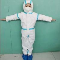 65克儿童一次性防护隔离衣,