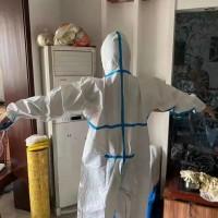 出售防护服白板,7元打包,35000件,货在山东
